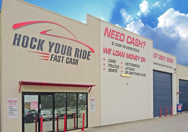 Hock Your Ride Office in Brisbane