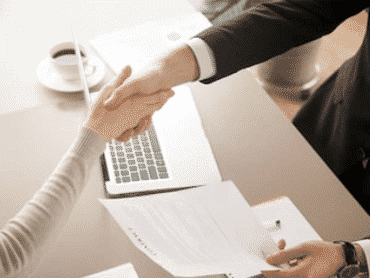 secured bad credit loans with contract and handshake